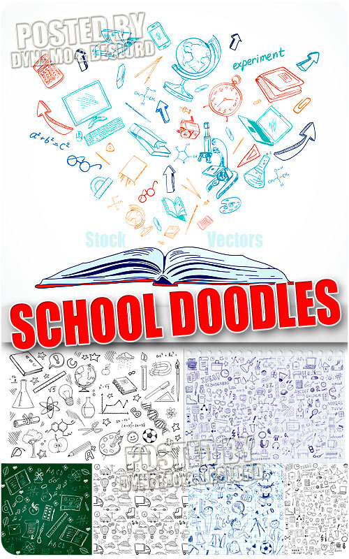 School Doodles 2 - Stock Vectors