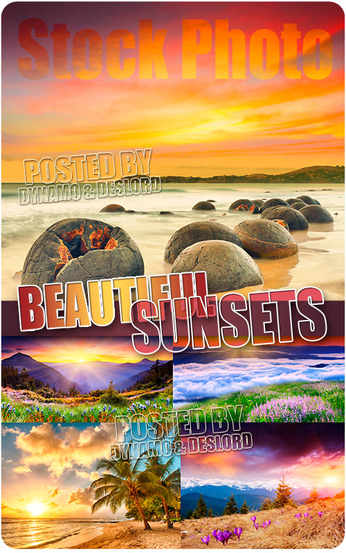 Beautiful sunsets - UHQ Stock Photo