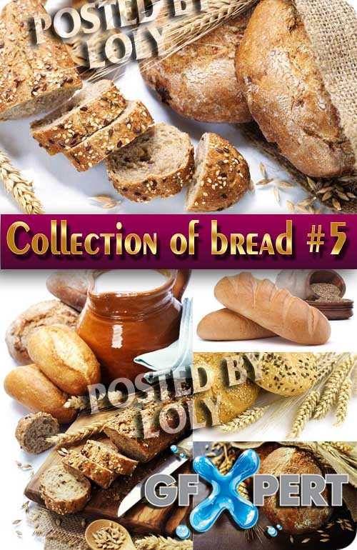 Food. Mega Collection. Bread and wheat #5 - Stock Photo