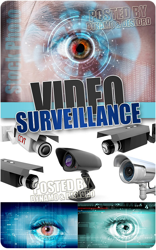 Video surveillance - UHQ Stock Photo
