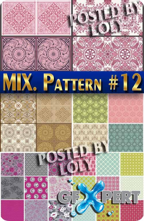 Mix Patterns #12 - Stock Vector
