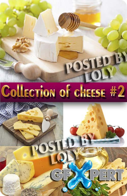 Food. Mega Collection. Cheese #2 - Stock Photo