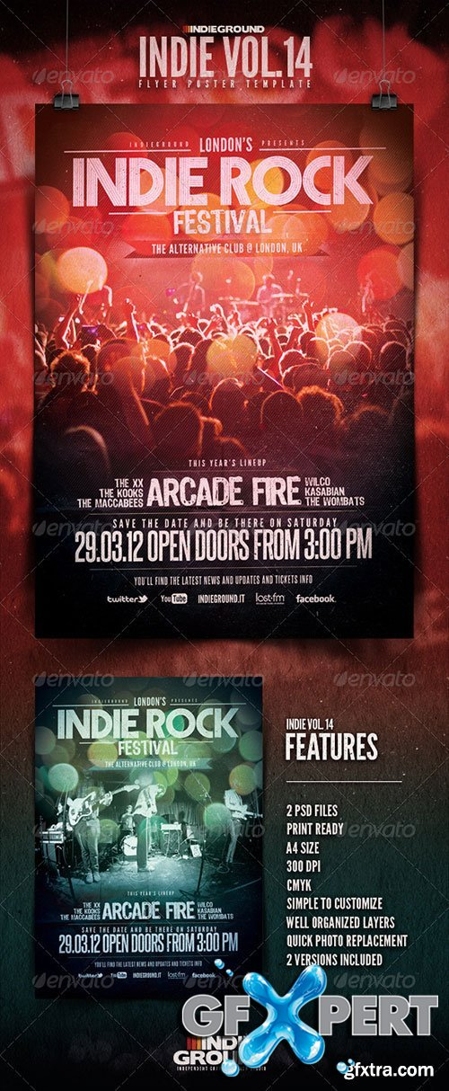 GraphicRiver - Indie Flyer/Poster Vol. 14