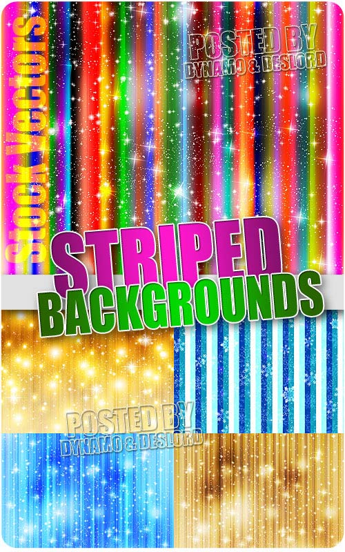 Striped background - Stock Vectors