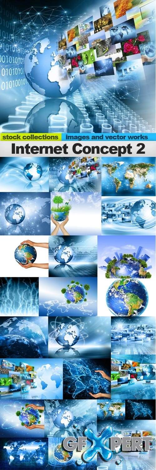 Internet Concept of global business 2,25 x UHQ JPEG