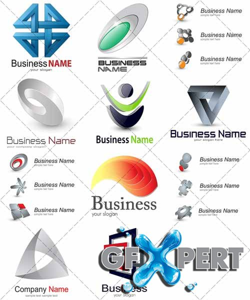 Logo for business - VectorStock