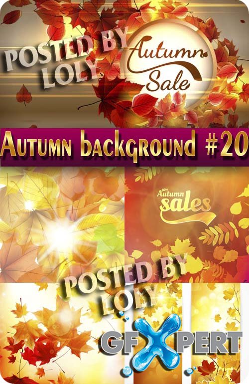 Autumn backgrounds #20 - Stock Vector