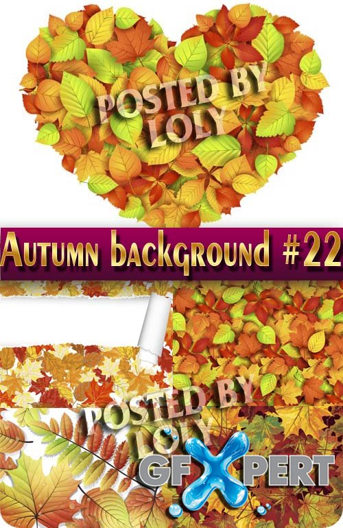 Autumn backgrounds #22 - Stock Vector