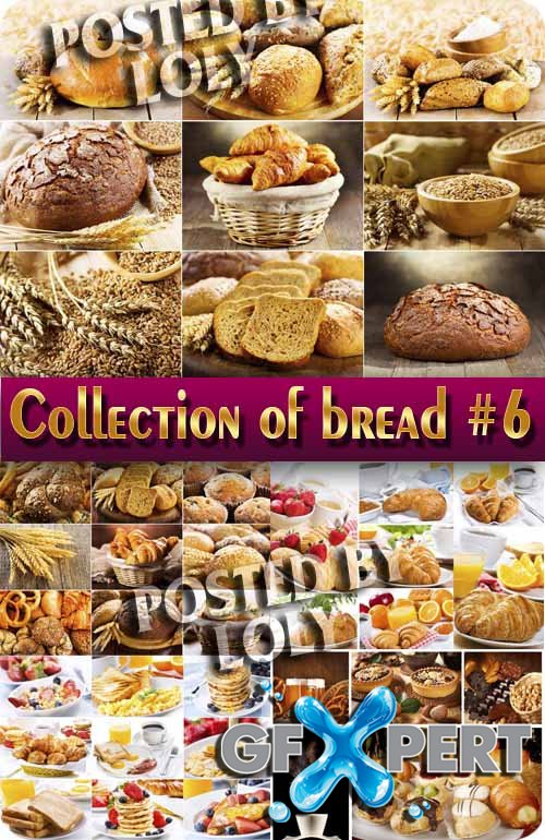 Food. Mega Collection. Bread and wheat #6 - Stock Photo