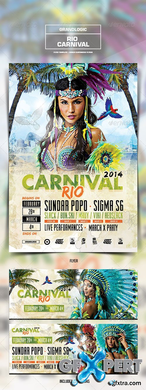 GraphicRiver - Carnival Flyer/Poster