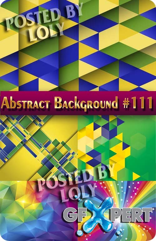 Vector Abstract Backgrounds #111 - Stock Vector