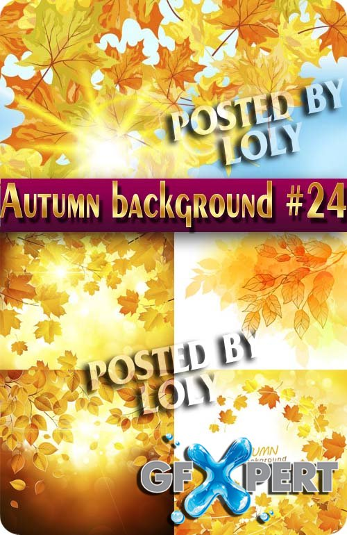Autumn backgrounds #24 - Stock Vector