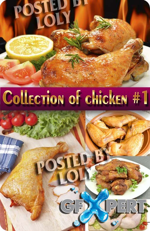 Food. Mega Collection. Chicken #1 - Stock Photo