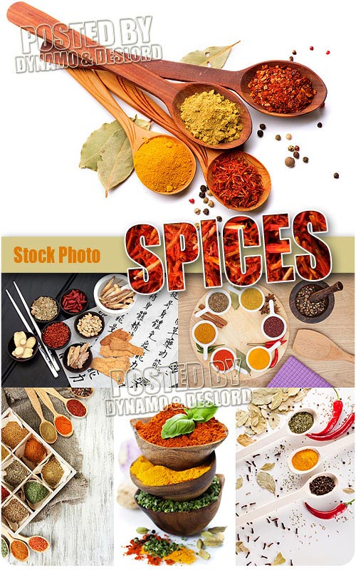 Spices - UHQ Stock Photo