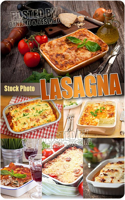 Lasagna - UHQ Stock Photo