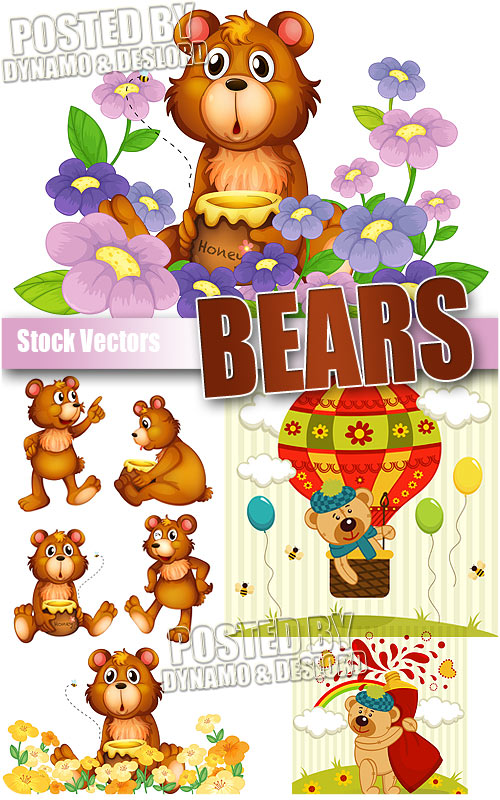 Bears - Stock Vectors