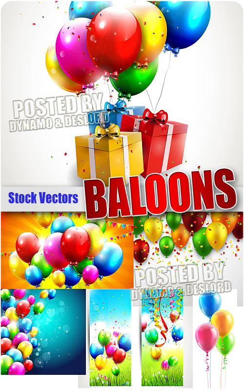 Baloons 2 - Stock Vectros