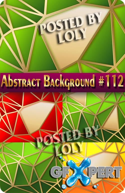 Vector Abstract Backgrounds #112 - Stock Vector