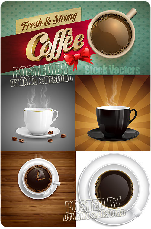 Coffee - Stock Vectors