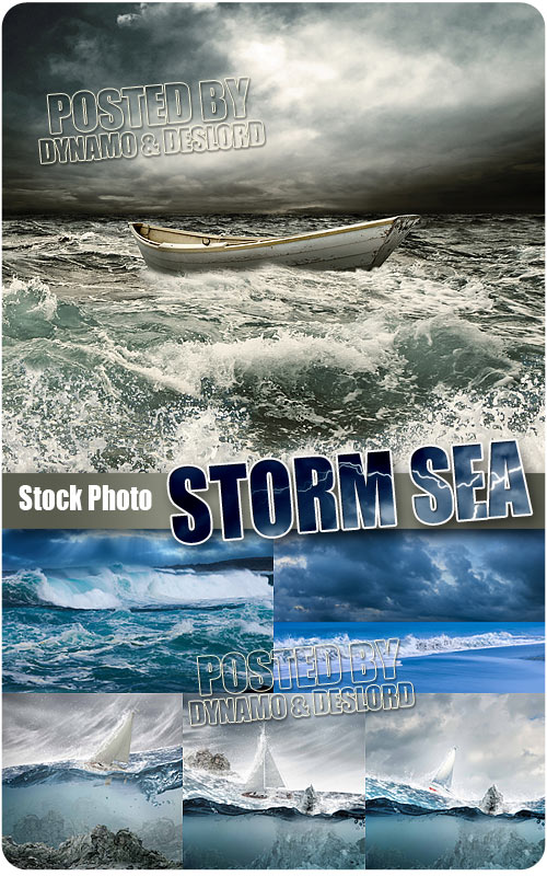 Storm sea - UHQ Stock Photo