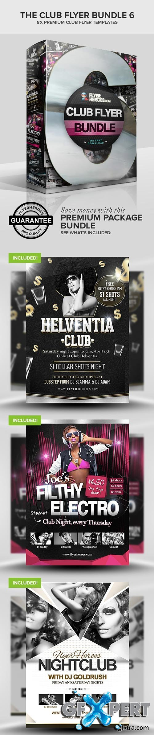 The Club Flyer Bundle 6