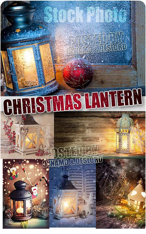 Christmas lantern - UHQ Stock Photo
