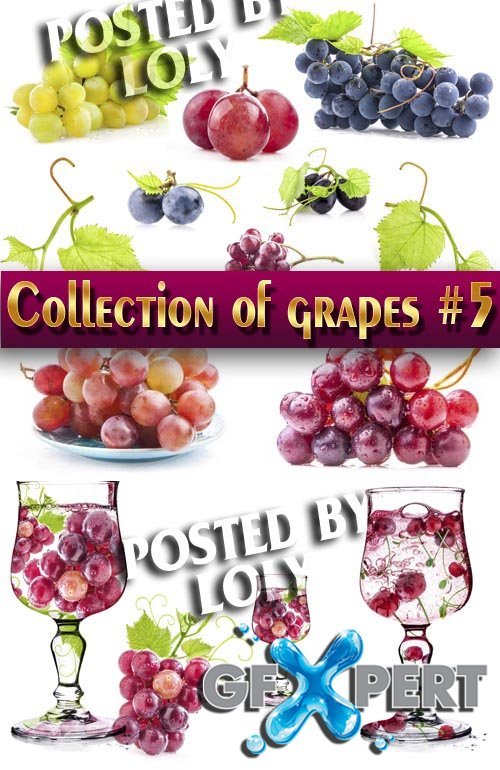 Food. Mega Collection. Grapes #5 - Stock Photo