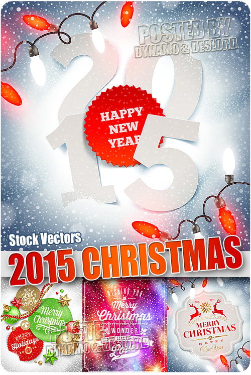 2015 Christmas - Stock Vectors