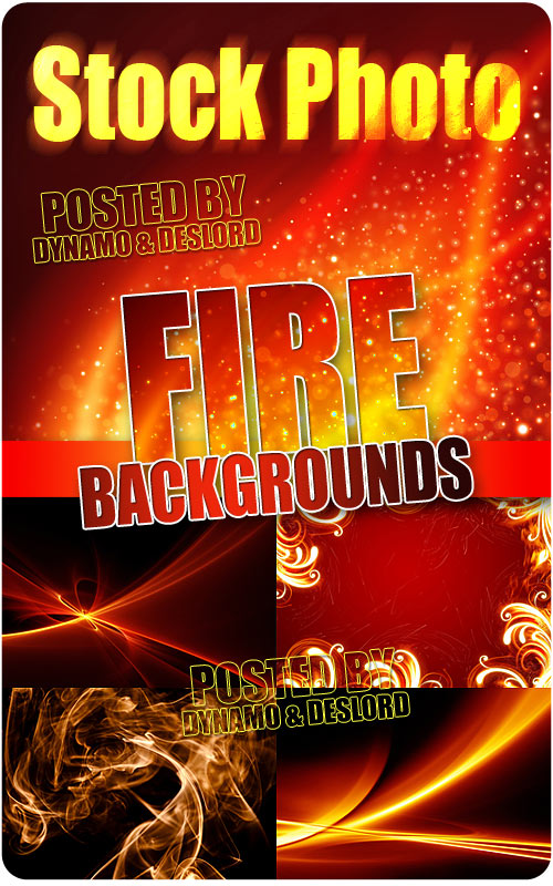 Fire Backgrounds - UHQ Stock Photo