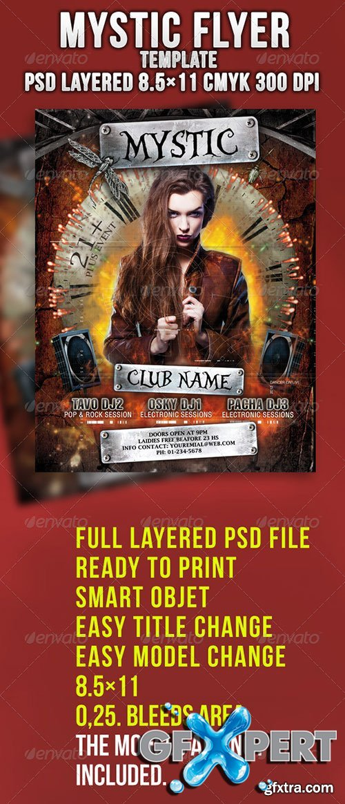 GraphicRiver - Mystic Flyer Template