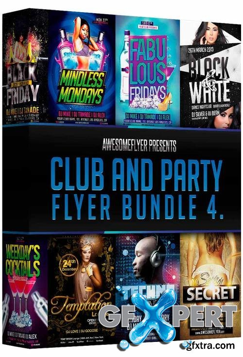 Club and Party Flyer Bundle Vol.4