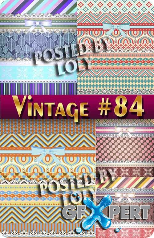 Vintage backgrounds #84 - Stock Vector