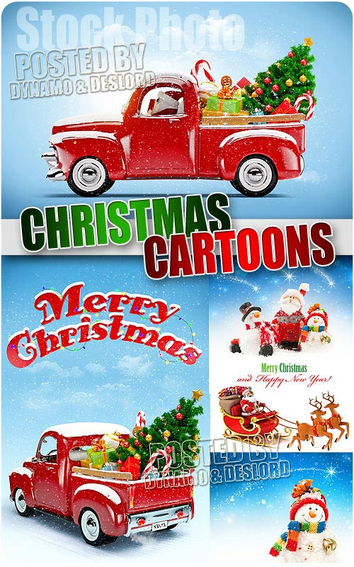 Christmas Cartoons - UHQ Stock Photo