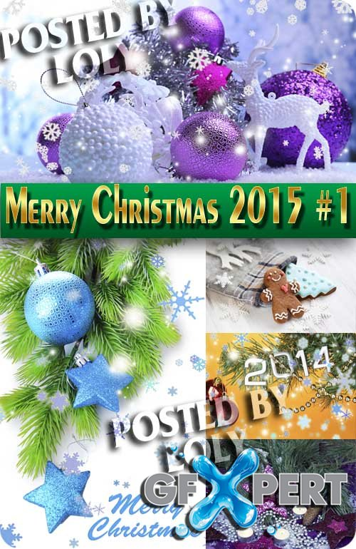 Merry Christmas Designs 2015 #1 - Stock Photo