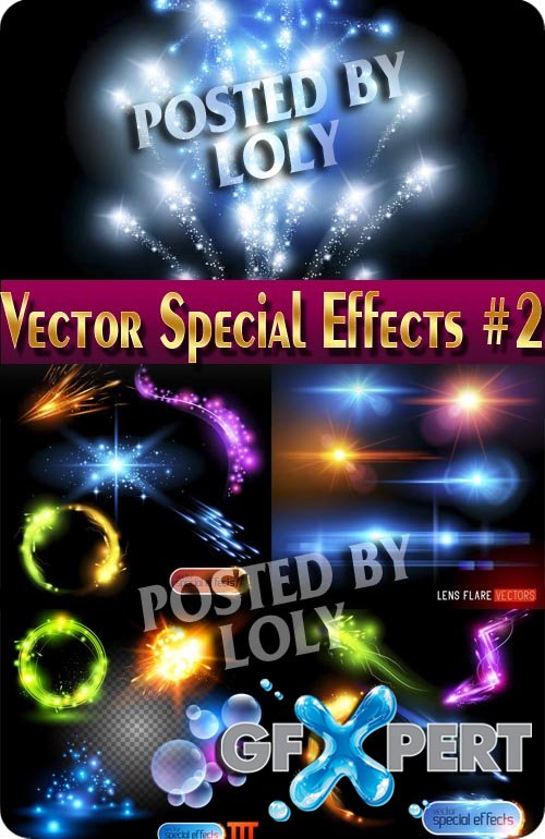 Effects vector #2 - Stock Vector