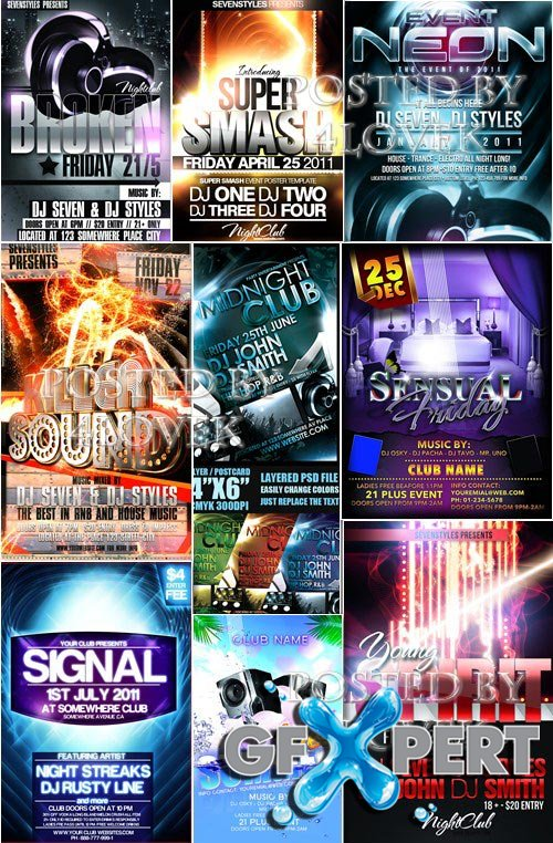 Graphicriver - Flyers Templates Collection