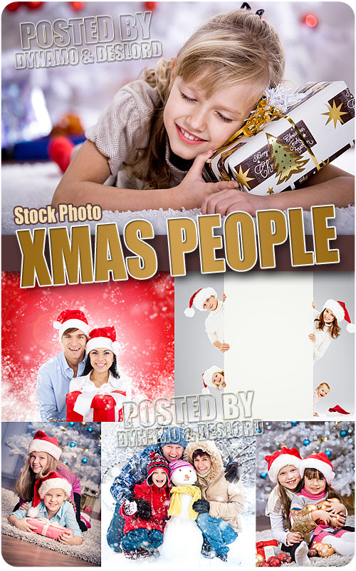 Xmas people - UHQ Stock Photo