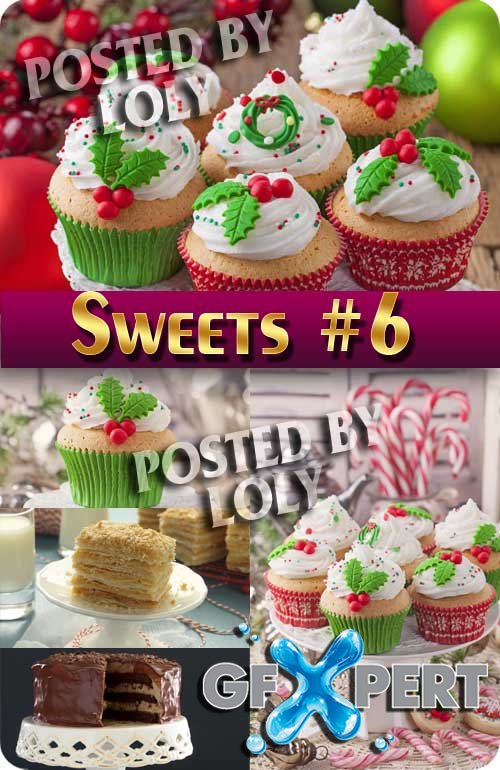 Sweets #6 - Stock Photo