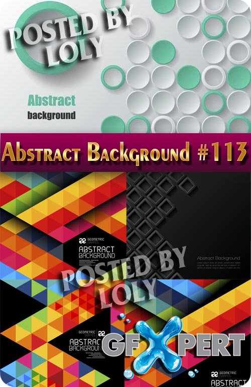 Vector Abstract Backgrounds #113 - Stock Vector
