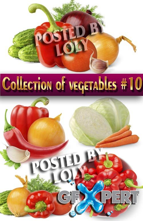 Food. Mega Collection. Vegetables #10 - Stock Photo