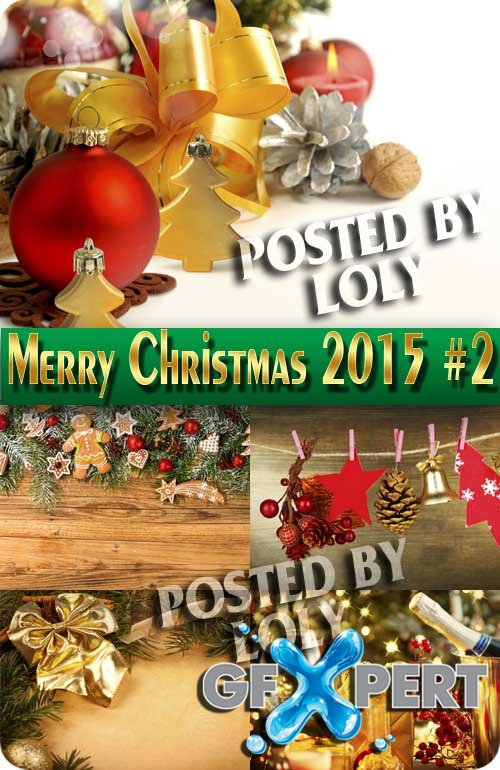 Merry Christmas Designs 2015 #2 - Stock Photo