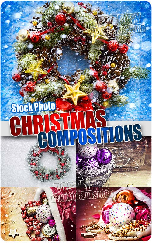 Christmas compositions 3 - UHQ Stock Photo