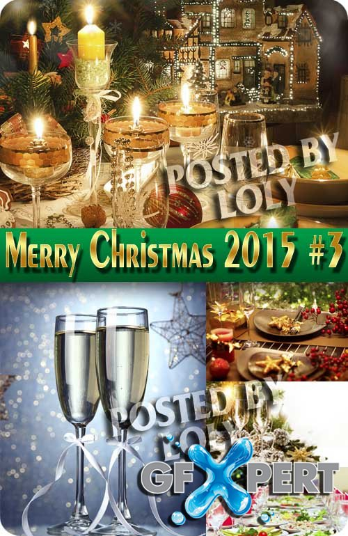 Merry Christmas Designs 2015 #3 - Stock Photo