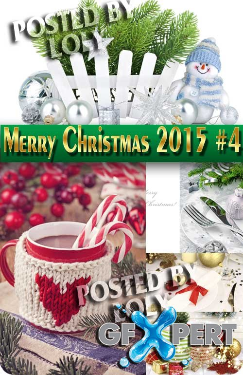Merry Christmas Designs 2015 #4 - Stock Photo