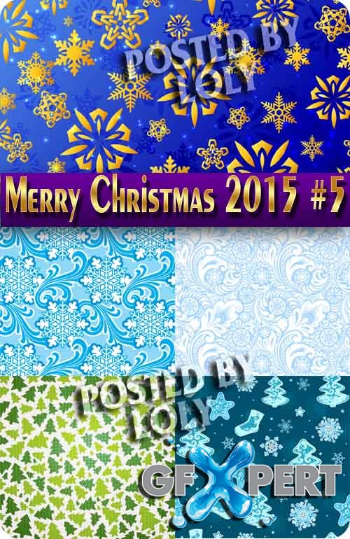 Merry Christmas Designs 2015 #5 - Stock Vector