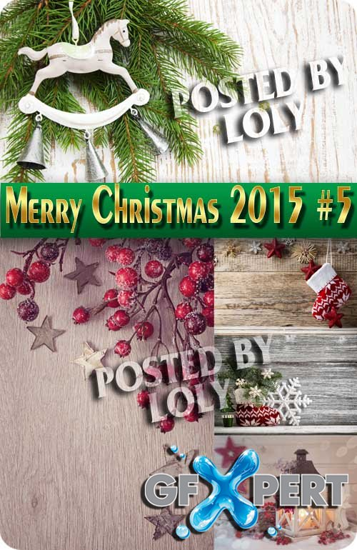 Merry Christmas Designs 2015 #5 - Stock Photo