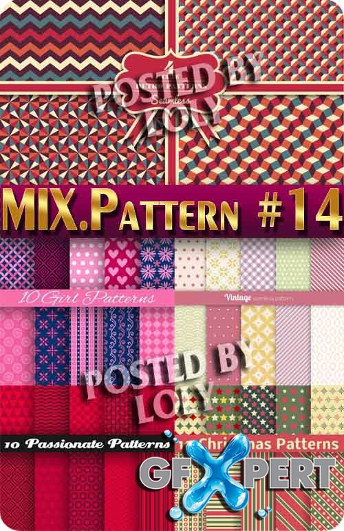Mix Patterns #14 - Stock Vector