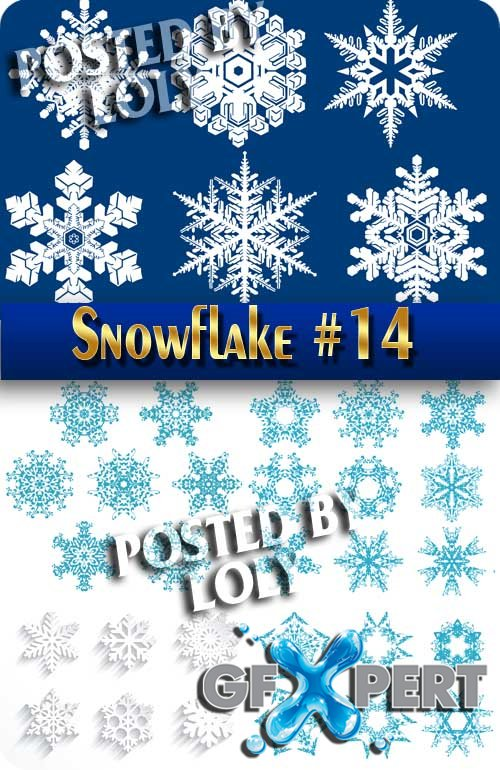 Snowflakes #2 - Stock Vector