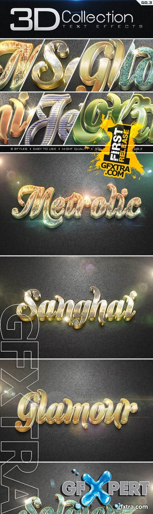 3D Collection Text Effects GO.3 - Graphicriver 8896234