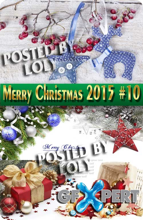 Merry Christmas Designs 2015 #10 - Stock Photo
